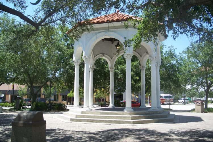 San Marco Square in Jacksonville