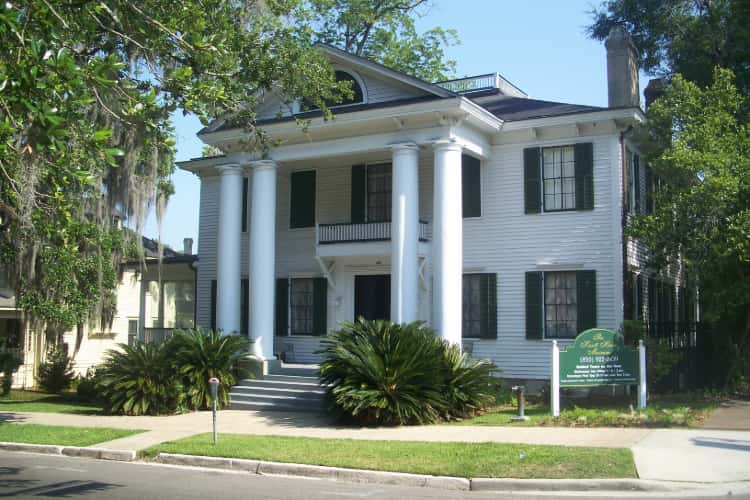 Park Avenue Historic District in Tallahassee