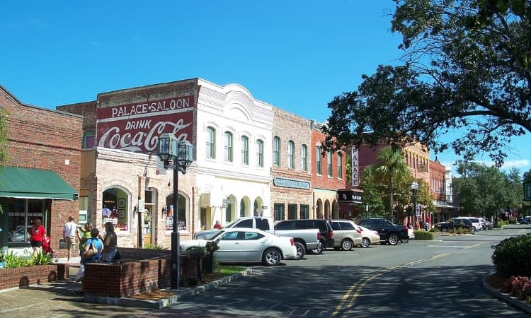 street view of palace saloon in florida
