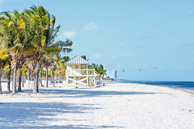 Crandon Park beach, Miami, Florida