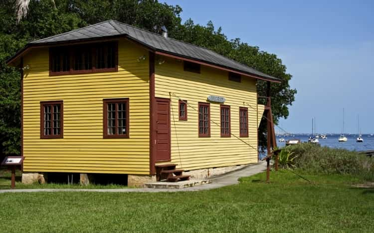 The Barnacle House in Barnacle Historic State Park in Miami, Florida