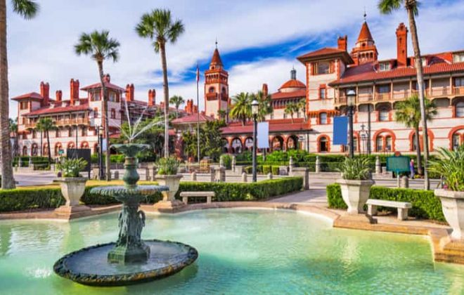 A historic plaza in Saint Augustine